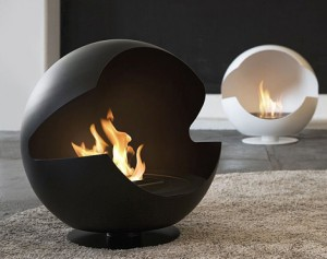 modern bio fireplaces